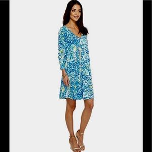 6806b210874acc Lilly Pulitzer Dresses - 💥CCO💥NEW, Lilly Pulitzer Erin Dress Blue Crush